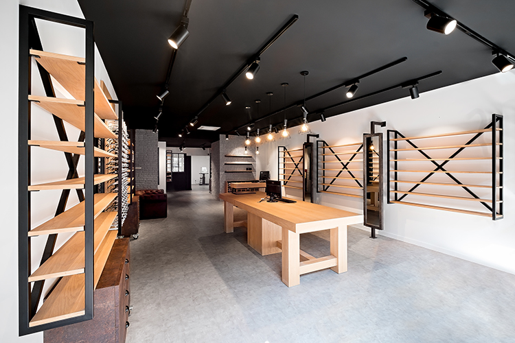 Agencement de magasin d'optique à Melun, Mobilier pour opticien par Optic Design