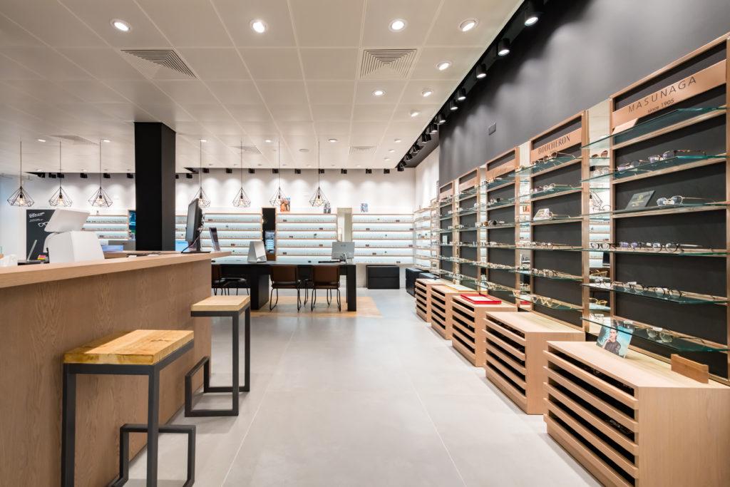 1839de941d Berdoz Optic - Genève | Agencement boutique d'optique par Optic Design